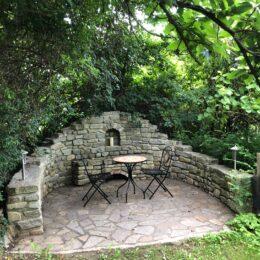 Sitzplätzchen im Garten